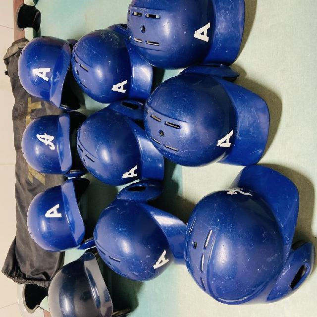 野球 ヘルメット ボール ベース