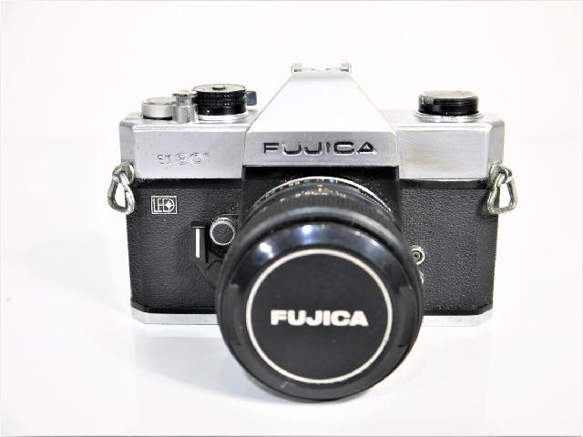R-84  FUJIKA  ST801  フィルムカメラ FUJINONレンズ付き
